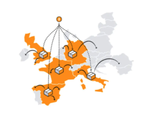 multi country inventory netwerk amazon