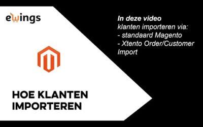 Magento 2 – Hoe importeer ik klanten in Magento?