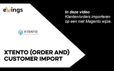 Magento 2 – Xtento Order Import – (order en) customer import
