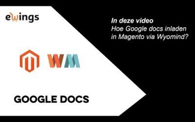 Magento 2 – Wyomind Mass Product Importer – Google Sheets