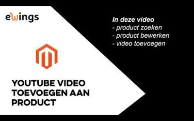 Magento 2 – Hoe voeg ik een YouTube-video toe aan een product?