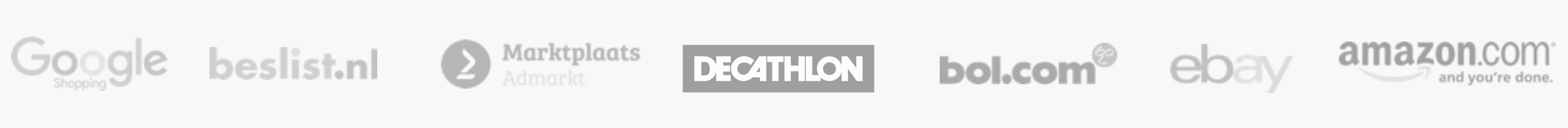 Marketplaces platforms - bol.com, amazon, decathlon, ebay,...