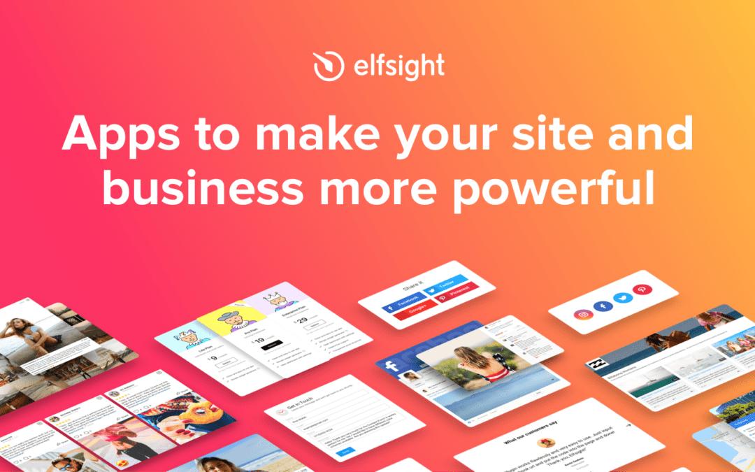 +80 plugins snel op je webshop actief via Elfsight widgets